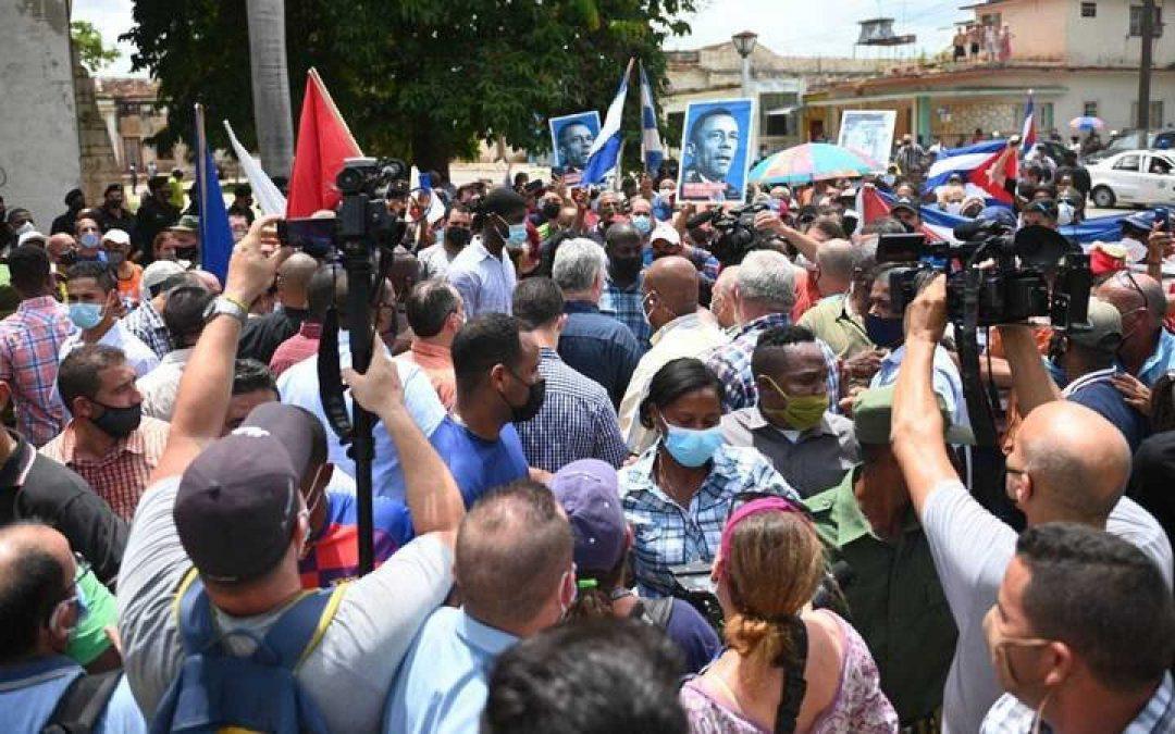 El PP de Boadilla apoya el levantamiento del pueblo cubano
