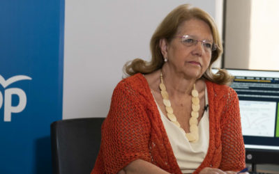 Elvira Rodríguez reclama más ayudas directas a las empresas en un encuentro digital con el PP de Boadilla